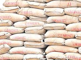 Cement in bags